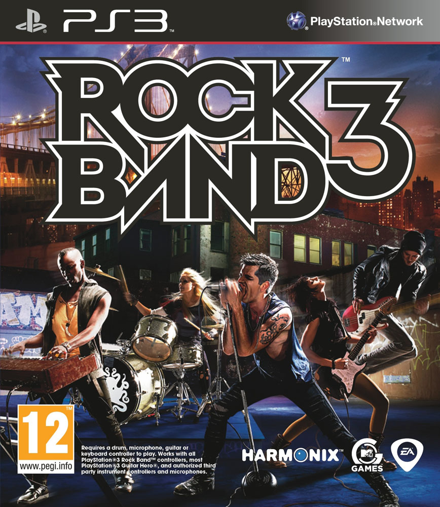 Rock Band 3 - Jaquette PS3