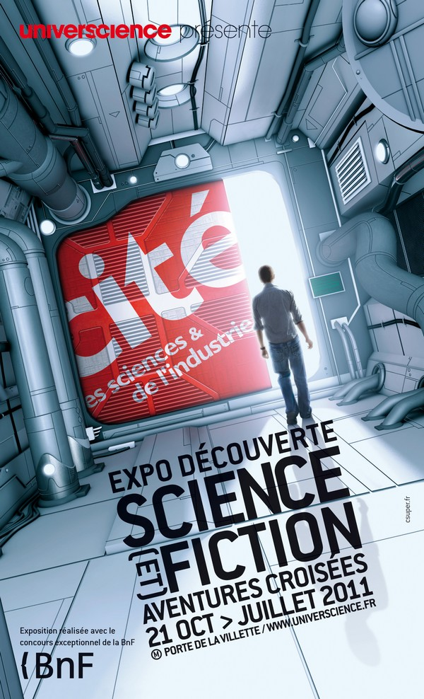 Science [et] fiction, aventures croisées - Affiche