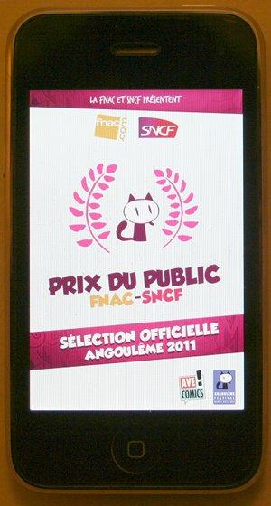 [Bulles numériques] Angoulême 2011 La sélection officielle sur Ipad et Iphone