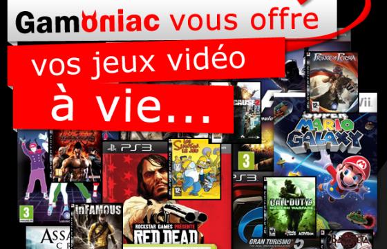[Bon Plan] Gamoniac vous offre vos jeux vidéo à vie !