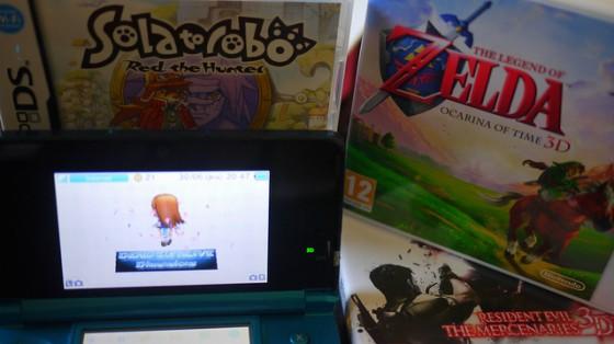 [Ma 3DS et moi] DOA, Zelda, Resident Evil et Solatorobo