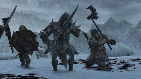 [Preview] le seigneur des anneaux : La guerre du nord.