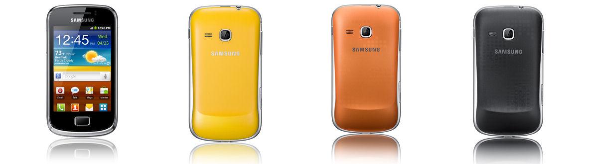 Le Samsung Galaxy Mini 2, un smartphone qui voit la vie en couleurs