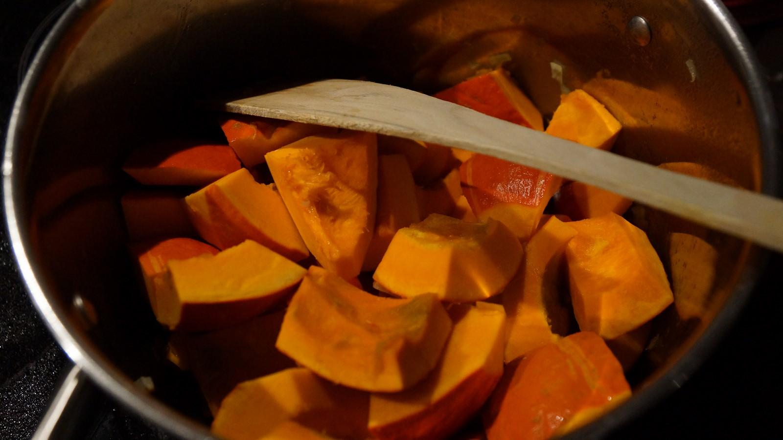 Vie de gourmand soupe de potimarron au bacon - Quand ramasser les potimarrons ...