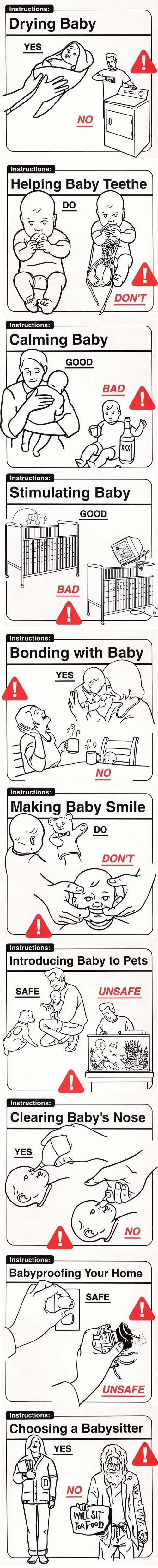 Comment prendre soin d'un bébé ?