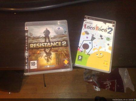 [PS3/PSP] Arrivage de Loco Roco 2 et Resistance 2