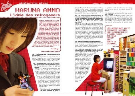 [Japon] Anno Haruna – Les filles savent aussi jouer à Street Fighter