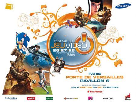 Festival du jeu vidéo 2008, Porte de Versailles.
