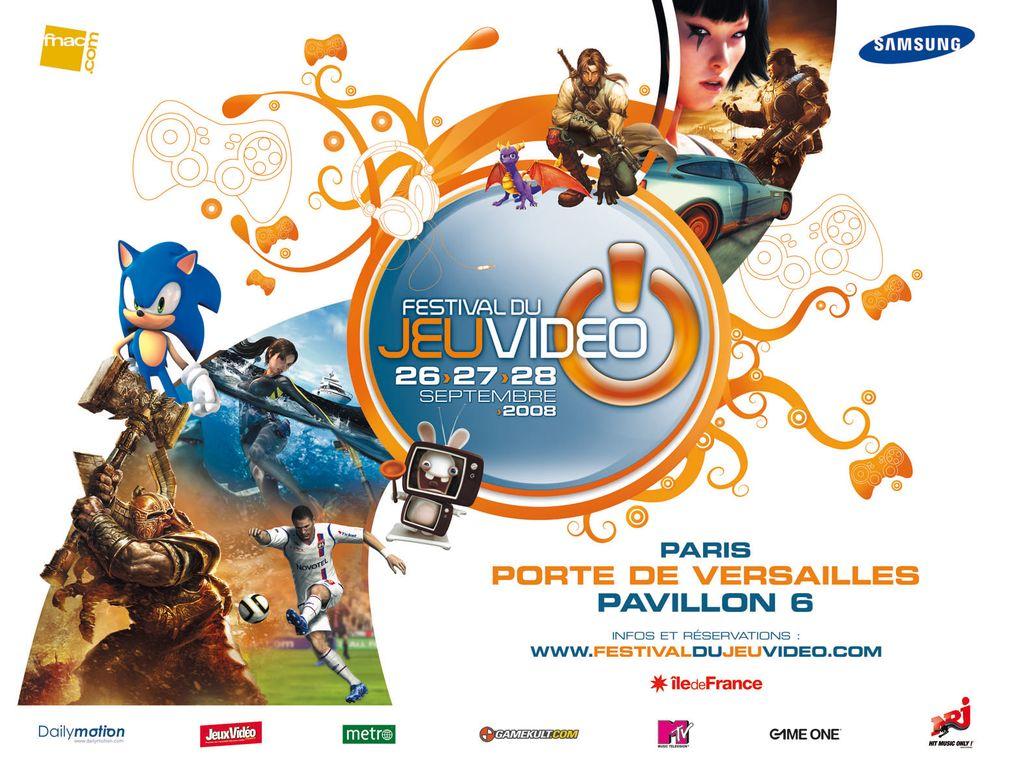 Festival du jeu vid o 2008 porte de versailles for Porte de versailles salon jeu video