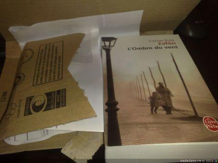 [Preview Roman] L'ombre du vent de Carlos Ruiz Zafon