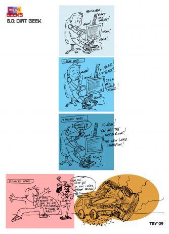 [Vie De Geeks – La BD] Strip 6 – Dirt Geek