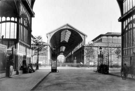 Halles Baltard, qui seront démolies en 1971. © Les Editions du Mécène