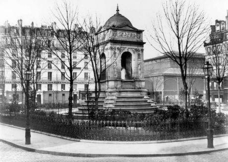 La Fontaine des Halles. © Les Editions du Mécène