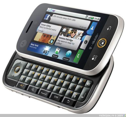 [Arrivage] Motorola Dext with MotoBlur