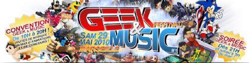 Le festival GeekandMusic !