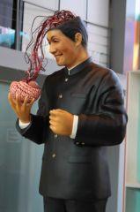 Takeshi Kitano, Autoportrait au cerveau / Gosse de peintre à la Fondation Cartier, Paris / ©Office Kitano Inc.
