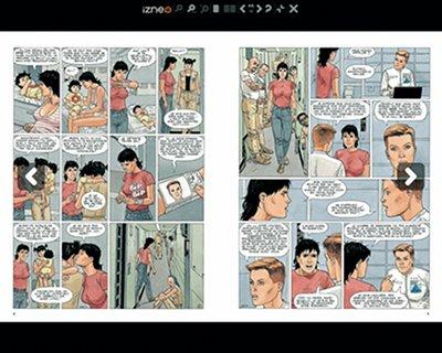 [Bulles numériques] Izneo : une nouvelle plateforme de BD numériques