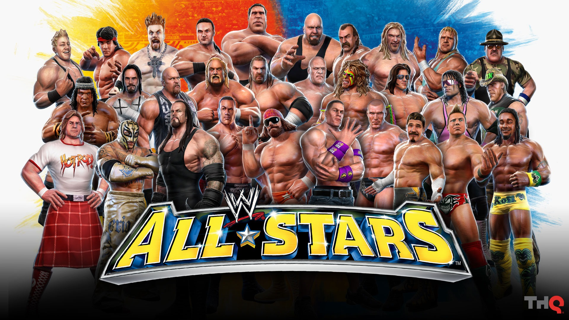 wwe smackdown superstars: