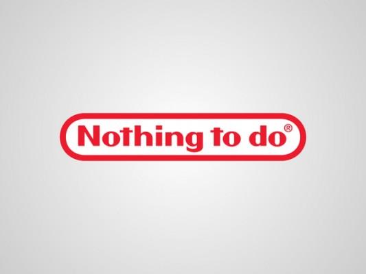 Logo Nintendo nothing to do