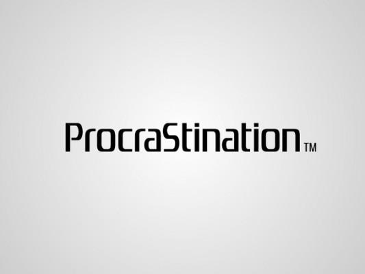 Logo playstation procrastination