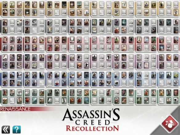 [Test ipad] Assassin's Creed Recollection