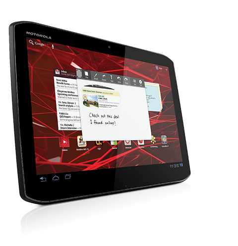 [Test extrême] Motorola Xoom 2 une tablette 10 pouces sous ...