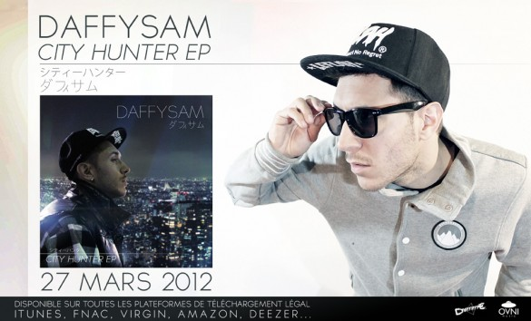 [Découverte Musique] Daffysam – City Hunter EP  ( Interview )