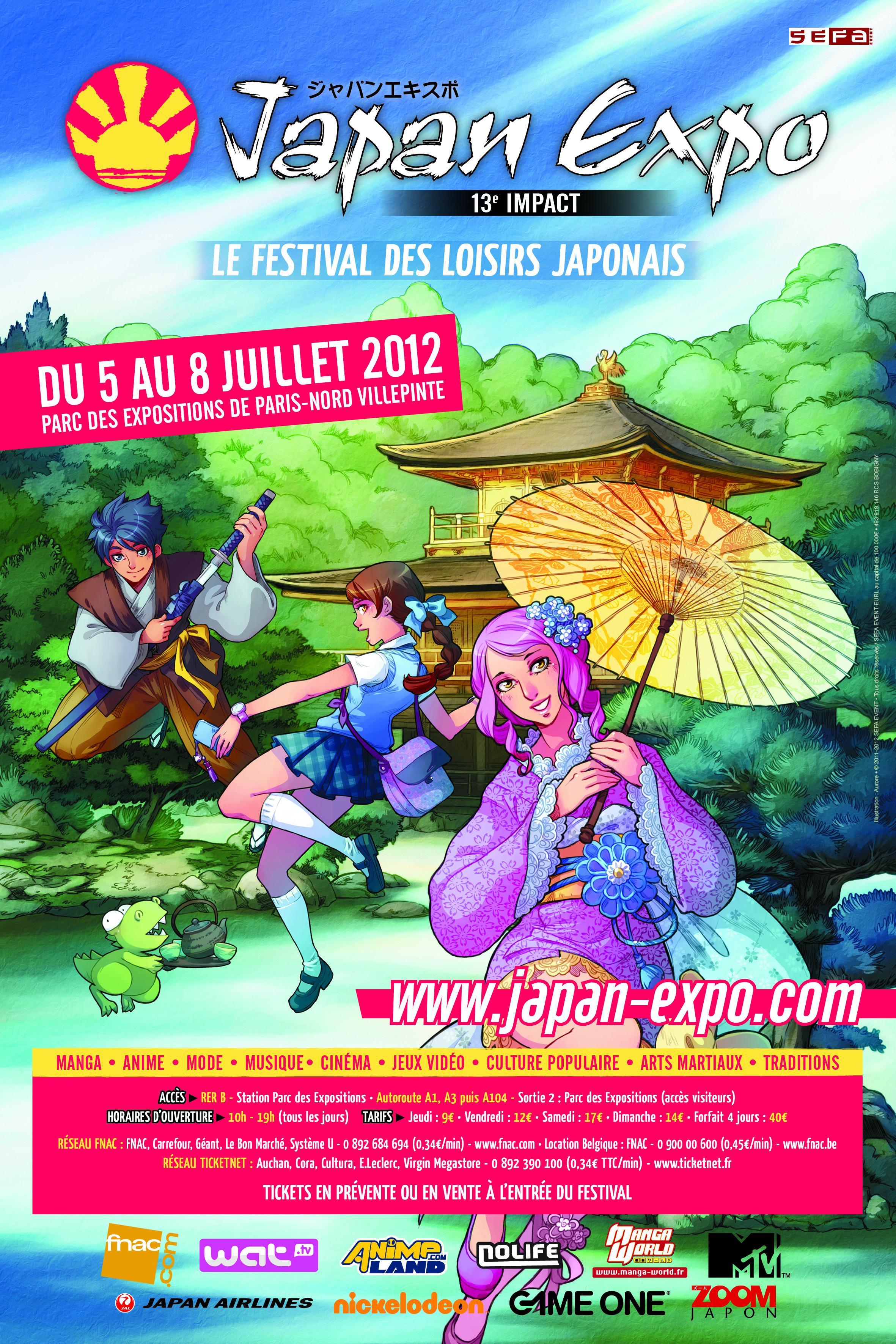 [Évènement] Japan Expo 13 : Vous allez y faire quoi ?