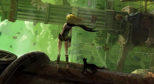 [Preview] Gravity Rush & Resistance Burning Skies