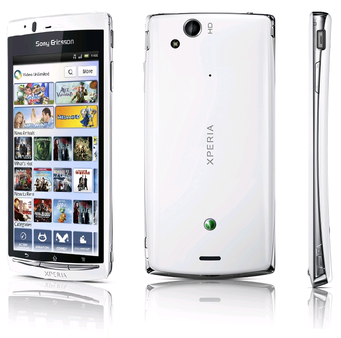 [Test] Sony Xperia Arc S sous Android 2.3