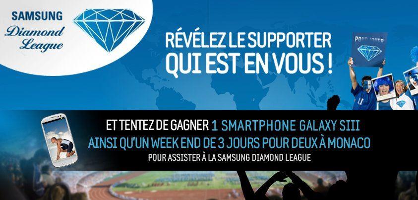 [Concours] Samsung t'envoie à Monaco à la Diamond League!