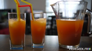 [Vie de Gourmand] Ice Tea mangue