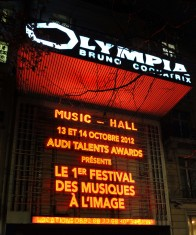 [MasterClass] Audi Talent Awards : Hanz Zimmer, Ludovic Bource et  Marco Beltrami
