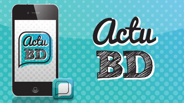 [Coup de pouce] ActuBD L'application pour gérer vos BD