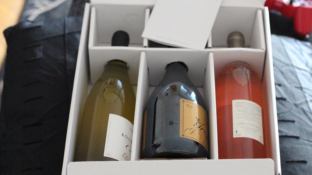 [Alcools et Cocktails] La boxe Vineabox : du bon vin tout les mois