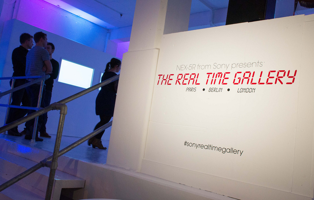 [Event] Sony Nex-5r Real Time Gallery