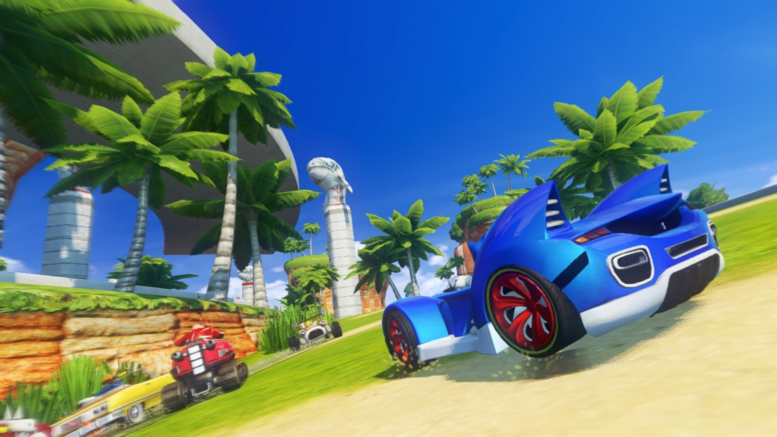 [Vie de Gamer] Sonic & all stars racing transformed Wii U