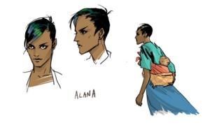 Alana par Fiona Staples
