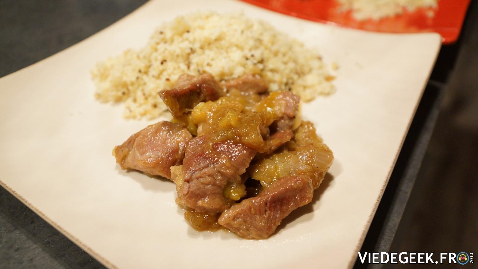 [Vie de Gourmand] Sauté de porc caramélisé