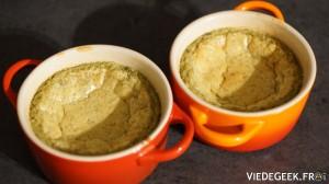 [Vie de Gourmand] Flans au thé vert et aux amandes