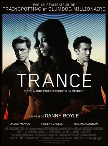 Trance, dans vos salles à partir du 8 mai 2013