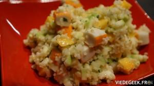 [Vie de Gourmand] Salade de surimi à la mangue