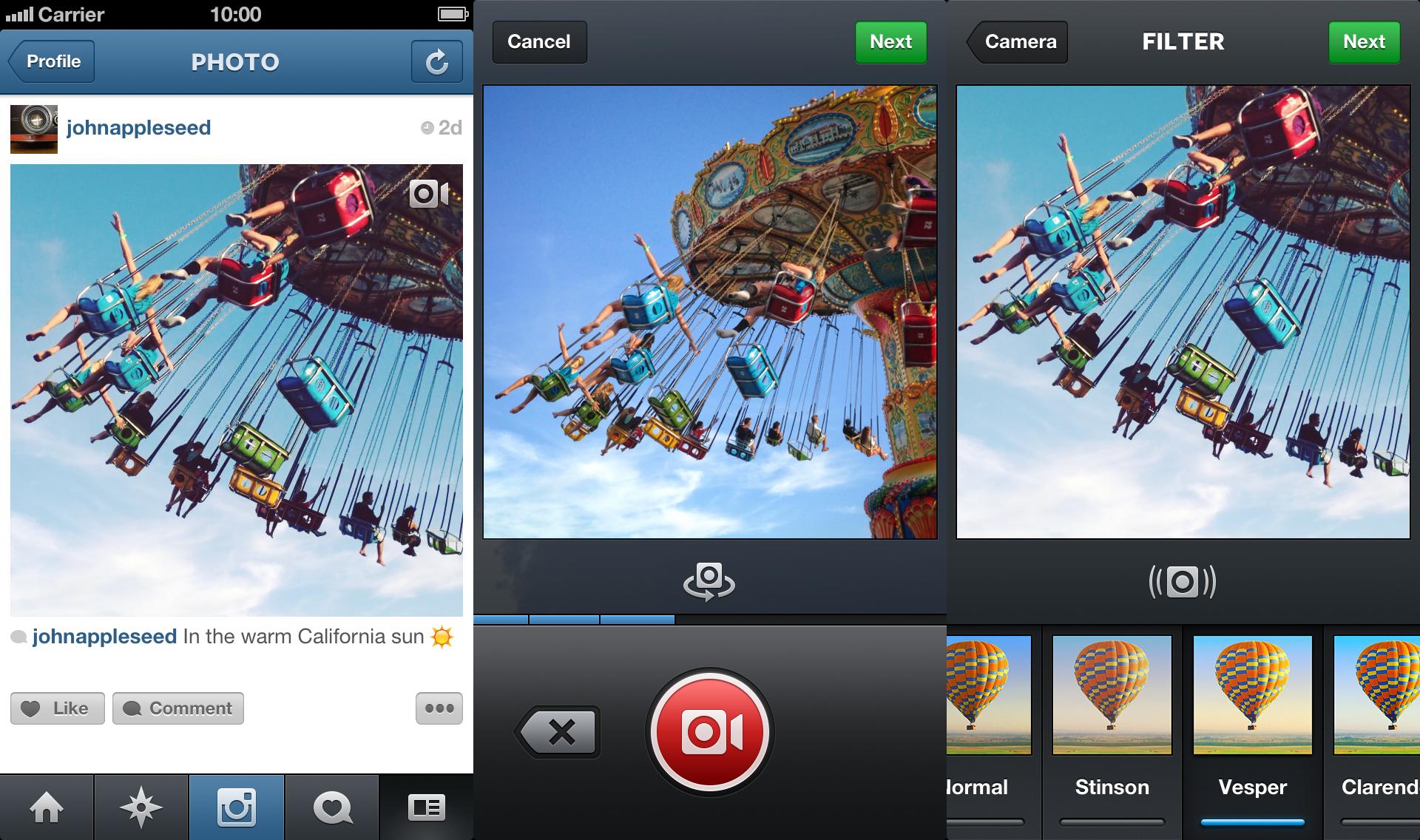 [Web] Instagram se lance dans la vidéo et Vine alors ?