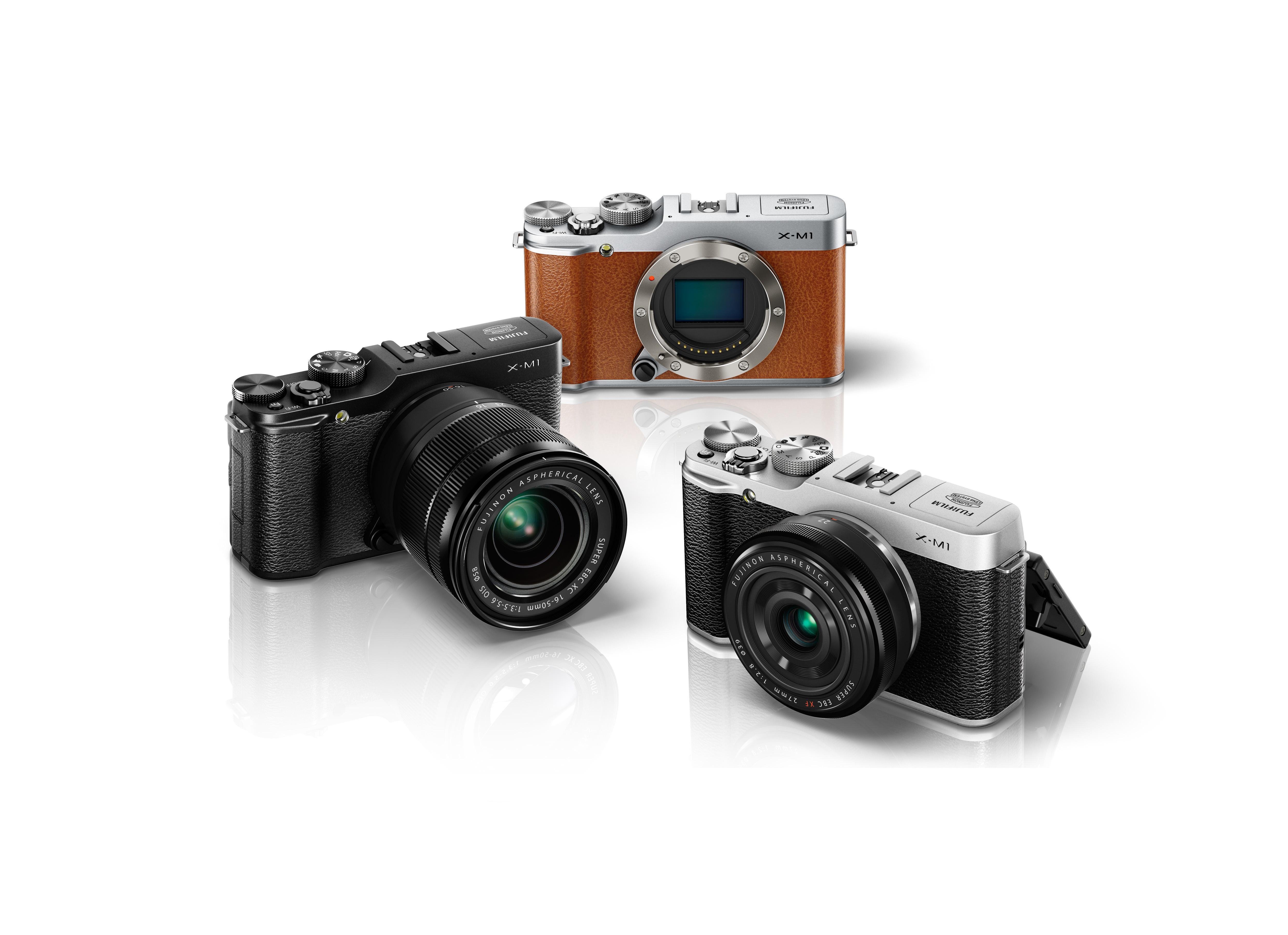 [Preview] La gamme X Fujifilm , X-M1 !