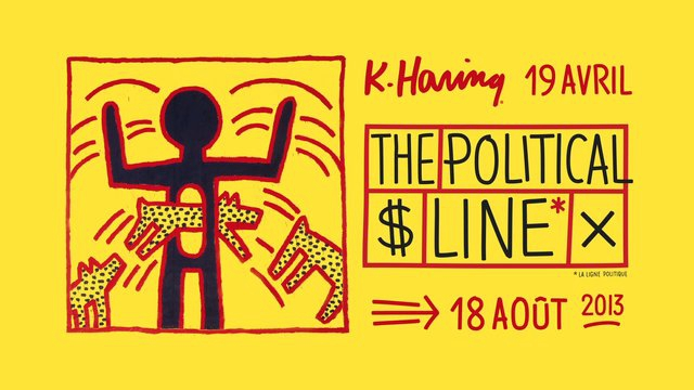 [Critique Expo] Keith Haring – The political line