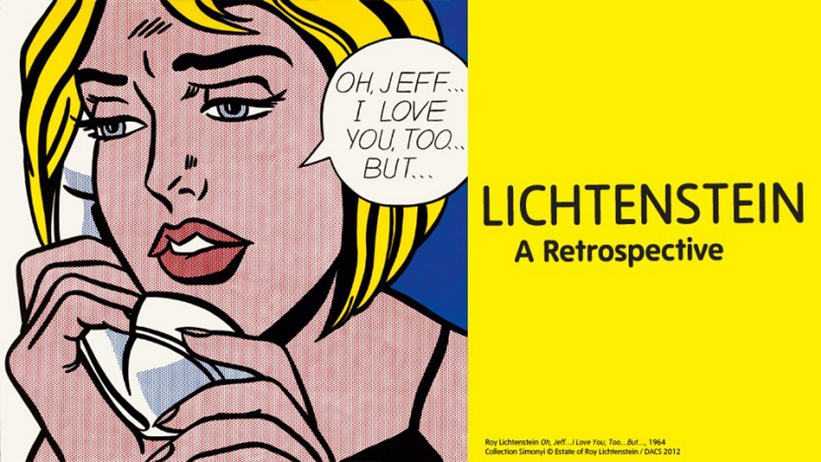 [Critique Expo] Roy Lichtenstein