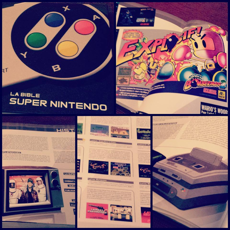 [Vie de Gamer] La bible Super Nintendo de Pix'n Love