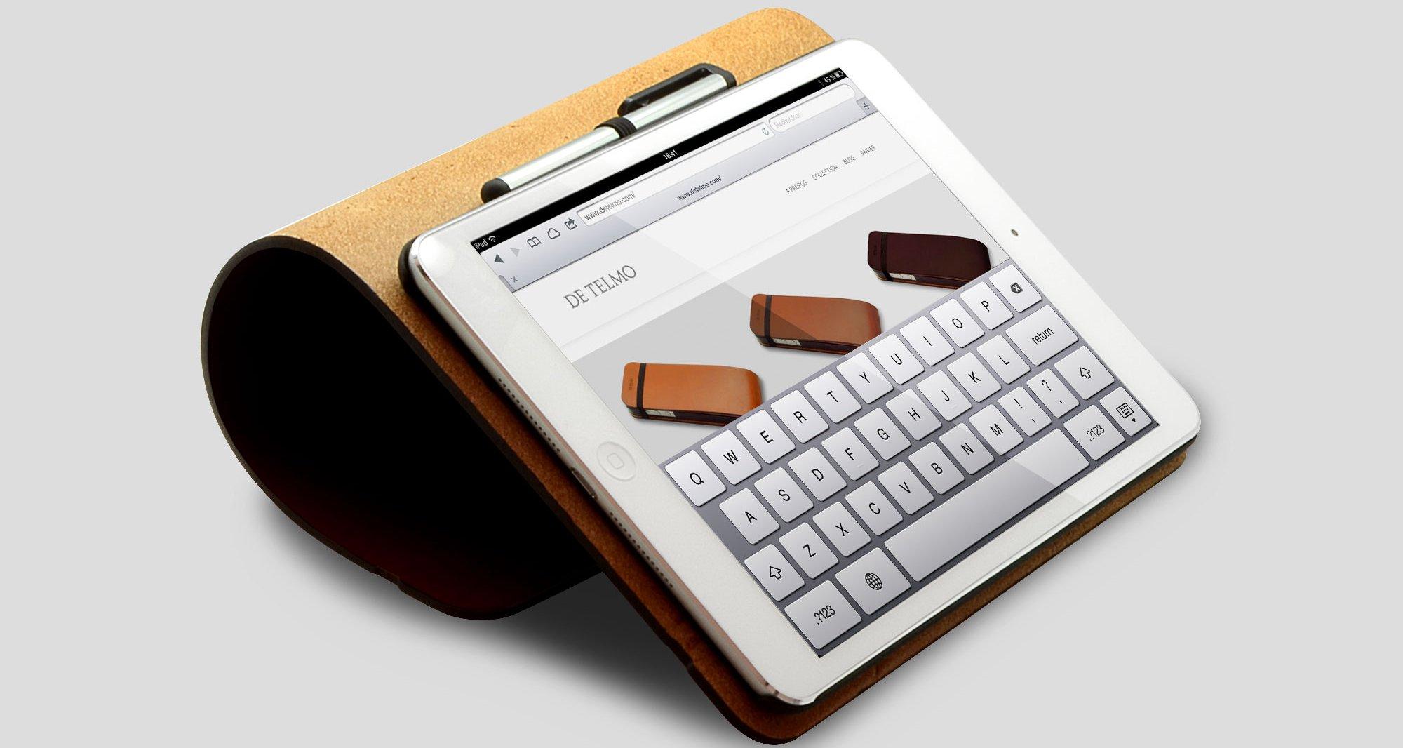 [Housses] De Telmo : housse de luxe en cuir pour iPhone ou iPad / iPad mini