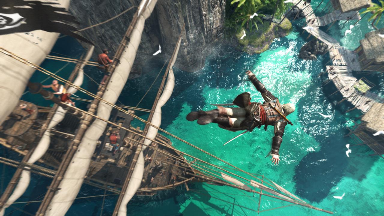 [Vie de Gamer] Assassin's Creed 4 : Black Flag sur PS4
