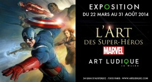 [Critique Expo] L'art des super-héros Marvel